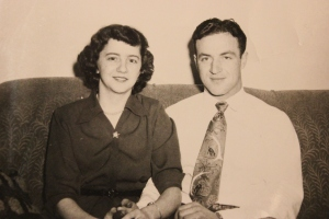The two people that inspired me the most - my Mom and Dad