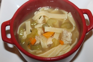 The perfect cold and winter buster - Homemade Chicken Noodle Soup