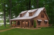 "The Weaver Barns Cedar Brooke home that will serve as the base model for our ""Simple Home"""
