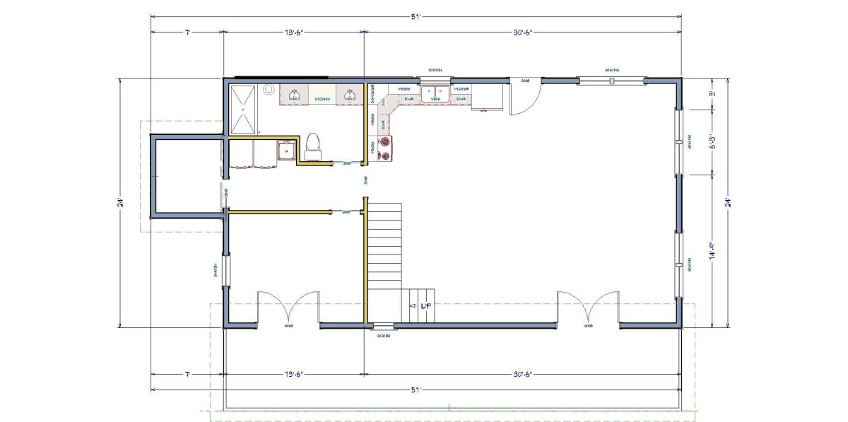 The simple house floor plan making the most of a small for Old world floor plans